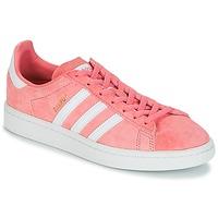 Topánky Ženy Nízke tenisky adidas Originals CAMPUS W Ružová