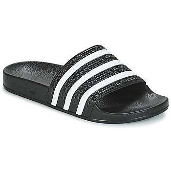 Topánky Nízke tenisky adidas Originals ADILETTE Čierna / Biela