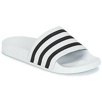 Topánky športové šľapky adidas Originals ADILETTE Biela / Čierna