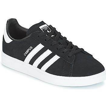 Topánky Deti Nízke tenisky adidas Originals CAMPUS C Čierna