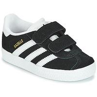 Topánky Deti Nízke tenisky adidas Originals GAZELLE CF I Čierna