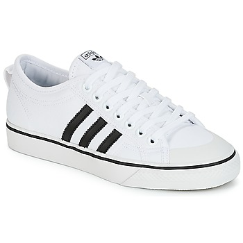 Topánky Nízke tenisky adidas Originals NIZZA Biela / Čierna