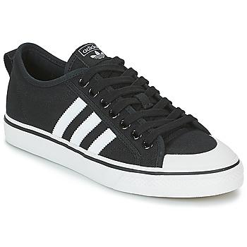 Topánky Nízke tenisky adidas Originals NIZZA Čierna / Biela