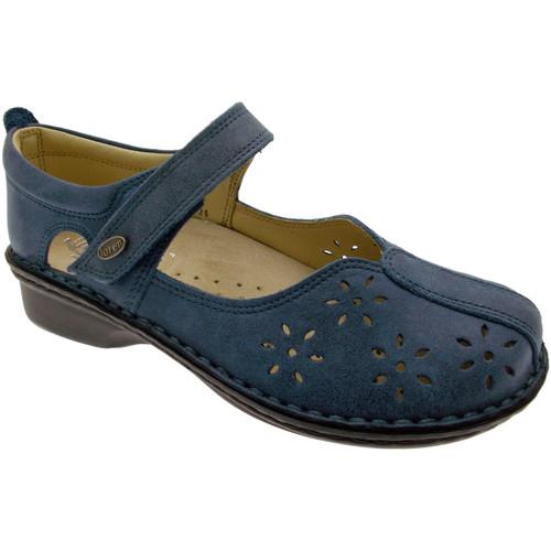 Topánky Ženy Balerínky a babies Calzaturificio Loren LOM2313bl blu