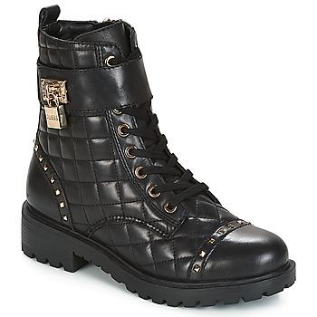Topánky Ženy Polokozačky Guess HOLDY Čierna