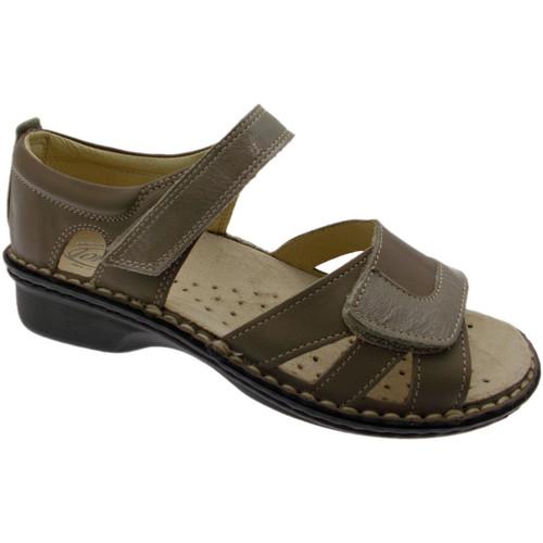Topánky Ženy Sandále Calzaturificio Loren LOM2524to tortora