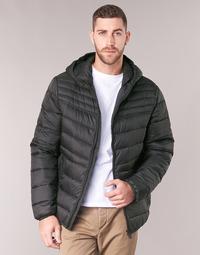 Oblečenie Muži Vyteplené bundy Geox DENNIE Čierna