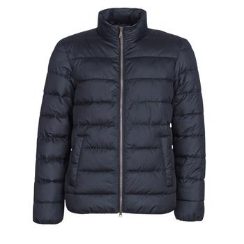 Oblečenie Muži Vyteplené bundy Geox WELLS Námornícka modrá