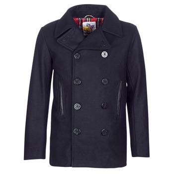 Oblečenie Muži Kabáty Harrington PCOAT Námornícka modrá