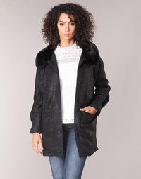 Oblečenie Ženy Kabáty Molly Bracken QUIEN Čierna