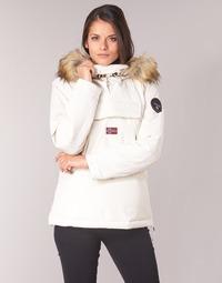 Oblečenie Ženy Parky Napapijri SKIDOO Biela