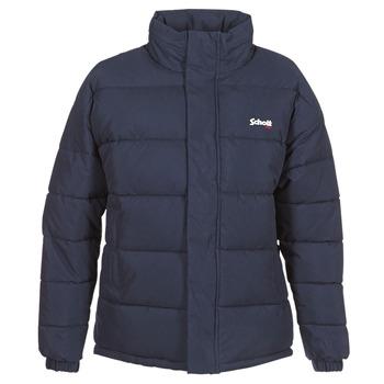 Oblečenie Vyteplené bundy Schott NEBRASKA Námornícka modrá