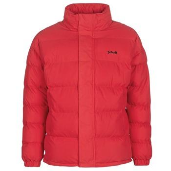 Oblečenie Vyteplené bundy Schott NEBRASKA Červená