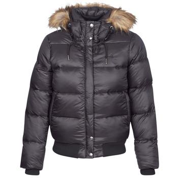 Oblečenie Ženy Vyteplené bundy Schott MAYDAY Čierna