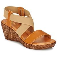Topánky Ženy Sandále Lotus EMILIANO Hnedá / Béžová