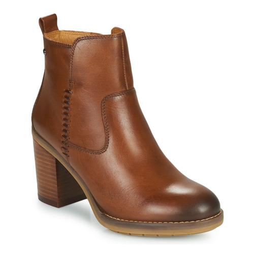 Topánky Ženy Čižmičky Pikolinos POMPEYA W9T Ťavia hnedá