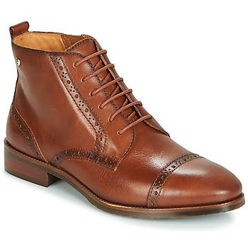 Topánky Ženy Polokozačky Pikolinos ROYAL W4D Ťavia hnedá
