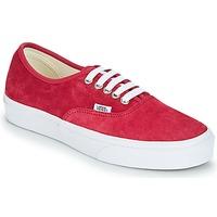 Topánky Ženy Nízke tenisky Vans AUTHENTIC Červená