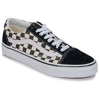 Topánky Nízke tenisky Vans OLD SKOOL Biela / Čierna