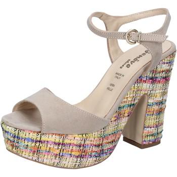 Topánky Ženy Sandále Geneve Shoes Sandále BZ890 Béžová