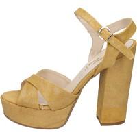 Topánky Ženy Sandále Geneve Shoes Sandále BZ892 Žltá