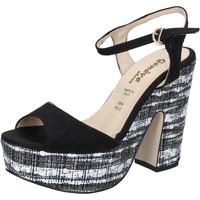 Topánky Ženy Sandále Geneve Shoes Sandále BZ893 Čierna