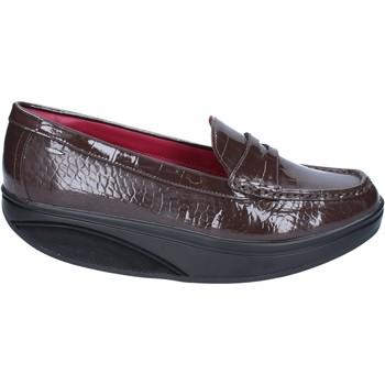 Topánky Ženy Mokasíny Mbt Mokasíny BZ916 Hnedá