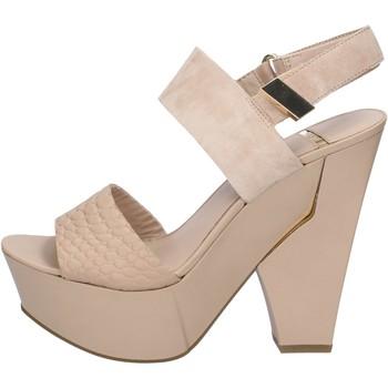 Topánky Ženy Sandále Marciano sandali beige camoscio pelle BZ430 Beige