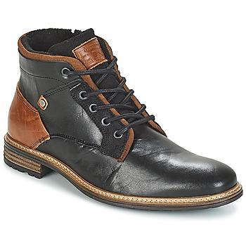 Topánky Muži Polokozačky Bullboxer NIRINA Čierna