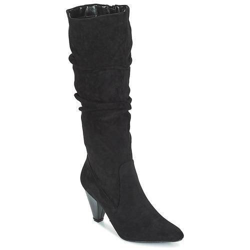Topánky Ženy Čižmy do mesta Moony Mood JULMA Čierna