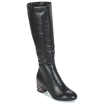 Topánky Ženy Čižmy do mesta Moony Mood JISMIA Čierna