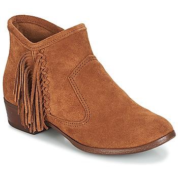 Topánky Ženy Čižmičky Minnetonka BLAKE BOOT Ťavia hnedá
