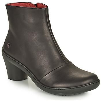 Topánky Ženy Čižmičky Art ALFAMA Čierna
