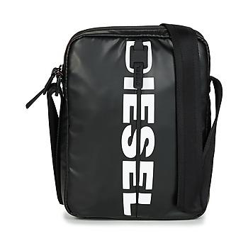 Tašky Muži Vrecúška a malé kabelky Diesel BOLD SMALL CROSS Čierna