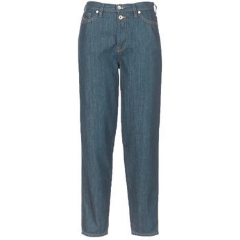 Oblečenie Ženy Rovné džínsy Diesel ALYS Modrá