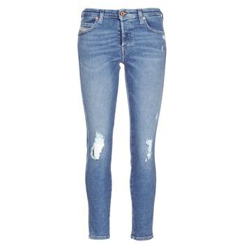 Oblečenie Ženy Džínsy Slim Diesel BABHILA Modrá