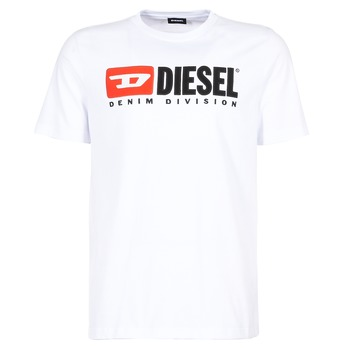 Oblečenie Muži Tričká s krátkym rukávom Diesel T JUST DIVISION Biela