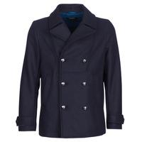 Oblečenie Muži Kabáty Diesel W BANFI Námornícka modrá