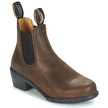 Topánky Ženy Polokozačky Blundstone WOMEN'S HEEL BOOT Hnedá