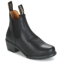 Topánky Ženy Polokozačky Blundstone WOMEN'S HEEL BOOT Čierna