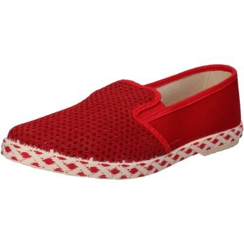 Topánky Muži Slip-on Caffenero AE159 Červená