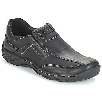 Topánky Muži Derbie Josef Seibel Nolan 18 Čierna