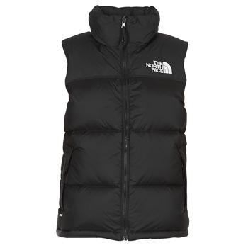 Oblečenie Ženy Vyteplené bundy The North Face NUPTSE VEST Čierna