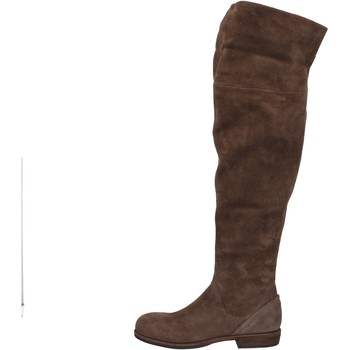 Topánky Ženy Cizmy Nad Kolenà Vic Čižmy AE871 Hnedá
