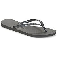 Topánky Ženy Žabky Havaianas SLIM Čierna