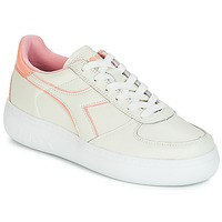 Topánky Ženy Nízke tenisky Diadora B.ELITE L WIDE WN Krémová / Ružová