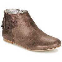 Topánky Ženy Polokozačky Ippon Vintage DOLLY MAGIC Béžová / Zlatá
