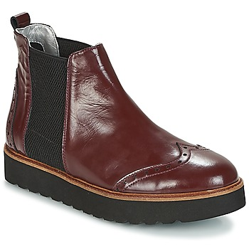 Topánky Ženy Polokozačky Ippon Vintage HUNTER THICK Bordová