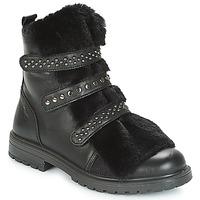 Topánky Dievčatá Polokozačky Primigi CHRIS Čierna
