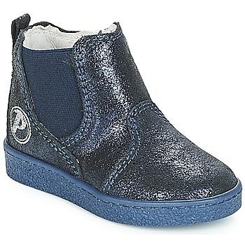 Topánky Dievčatá Polokozačky Primigi WODY Modrá